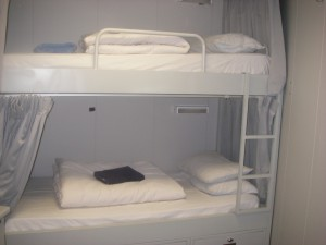 Two beds on the JOIDES Resolution