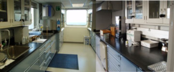 Sedimentology/Micropaleontology Laboratory